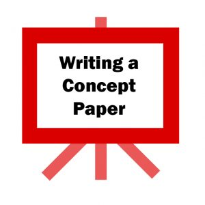 Writing a Concept Paper