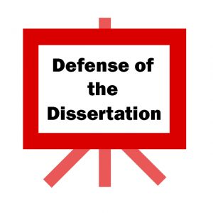 Defense of Dissertation